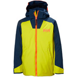 Helly Hansen Jr Twister Jacket gelb/dunkelblau (limette)
