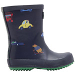 Tom Joule Baby Welly Print navy animals