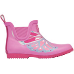Tom Joule Jnr Wellibob pink butterfly