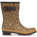 Tom Joule Molly Welly Gelbbrauner Leopard