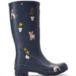 Tom Joule Roll Up Welly grey dogs