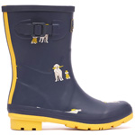 Tom Joule Molly Welly Navy Rain Dogs