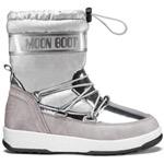 Moon Boot Jr Girl Soft WP Silber (Silver)