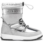 Moon Boot Jr Girl Soft WP Silber/Grau (Silver)