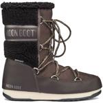 Moon Boot Monaco Wool Mid WP Dark Brown