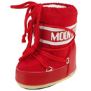 Moon Boot Mini Nylon rot