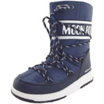 Moon Boot Jr Boy Sport WP dunkelblau/weiß (blue navy/white)