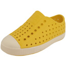 Native Shoes Jefferson Child gelb (crayon yellow/bone white)