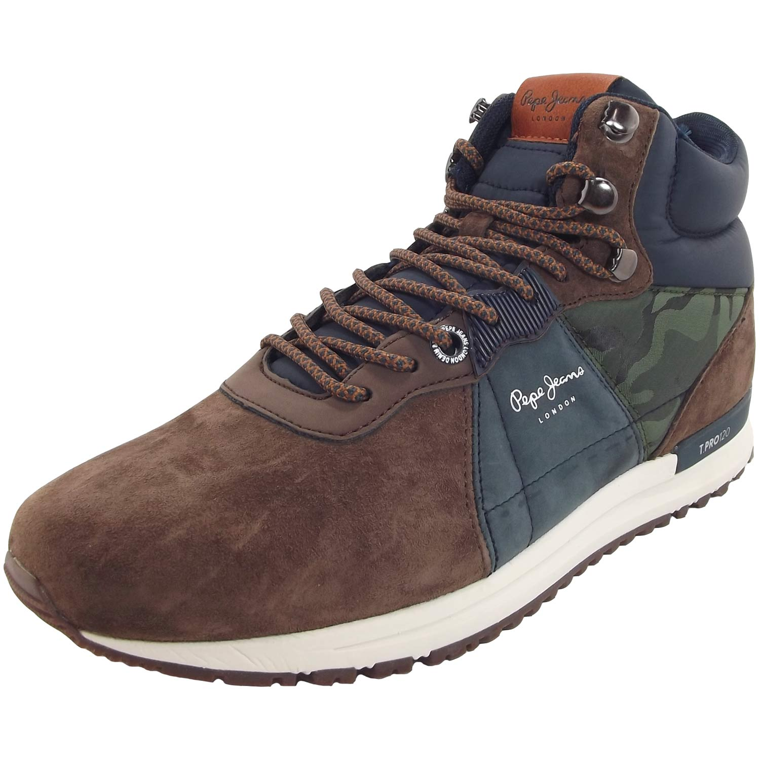 Pepe Jeans Tinker Pro Boot braunblaucamo (stag) | Flux Online