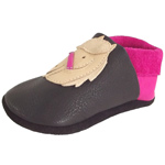 Pololo Pferd Polly Schwarz/Pink (Castagno Pink)