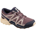 Salomon Speedcross CSWP J Flint/Evening Blue/Bellini