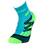 Salomon XT Hawk Kids Turquoise/Neon Green