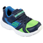 Skechers Eclipsor Interpulse blau/grün (blue/lime)