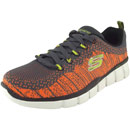 Skechers Equalizer 2.0 Perfect Game grau/orange (charcoal/orange)
