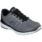 Skechers Flex Advantage 3.0 Stally grau/schwarz (charcoal/black)