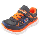 Skechers Flex Advantage Mini Race grau/orange (charcoal/orange)