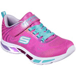 Skechers S Lights Litebeams Gleam N Dream neon/pink/multi