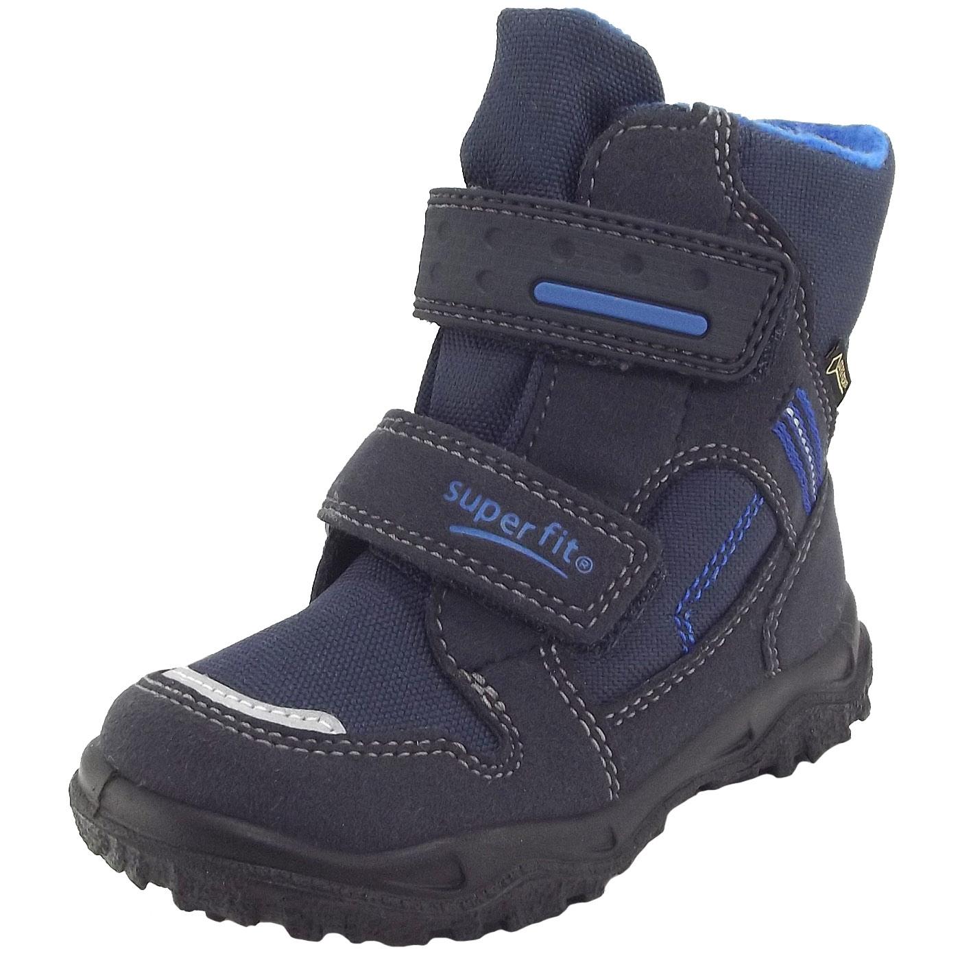 3990cd02f6fd91 Superfit Gore-Tex Husky1 Klett dunkelblau blau (ocean kombi)