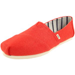 Toms Classic Heritage Canvas Wm tomatenrot (cherry tomato)
