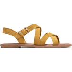Toms Sicily amber gold suede